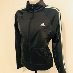 Vintage 90s Adidas Classic Retro Zip Track Jacket